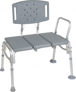 Heavy Duty Bariatric Plastic Seat Transfer Shower Bench