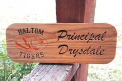 Custom Name Plaque